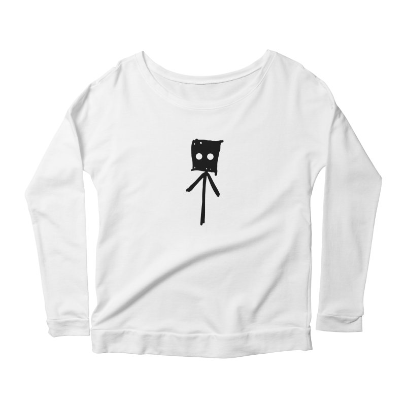 Sprite Women's Longsleeve Scoopneck  by The Little Fears