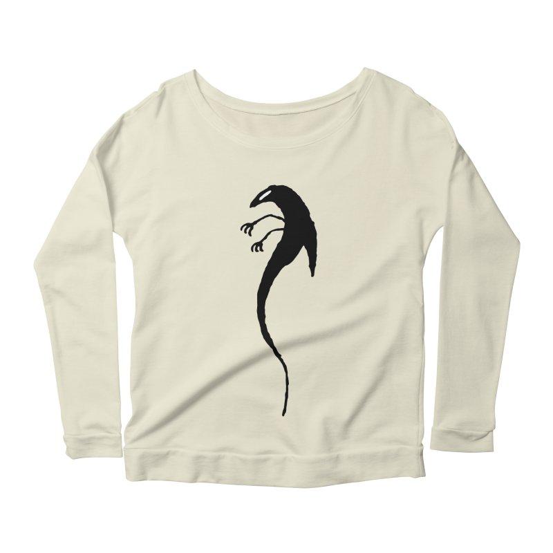 Lucy Women's Scoop Neck Longsleeve T-Shirt by The Little Fears