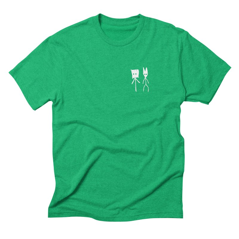 Sprite & Spectre Men's Triblend T-Shirt by The Little Fears