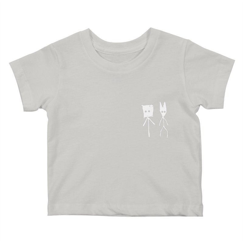 Sprite & Spectre Kids Baby T-Shirt by The Little Fears