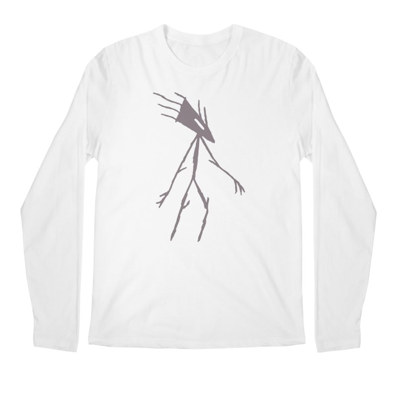Road Walker Men's Regular Longsleeve T-Shirt by The Little Fears