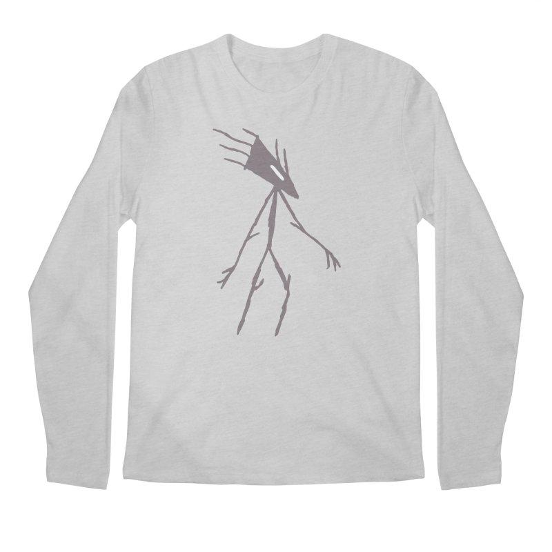 Road Walker Men's Longsleeve T-Shirt by The Little Fears