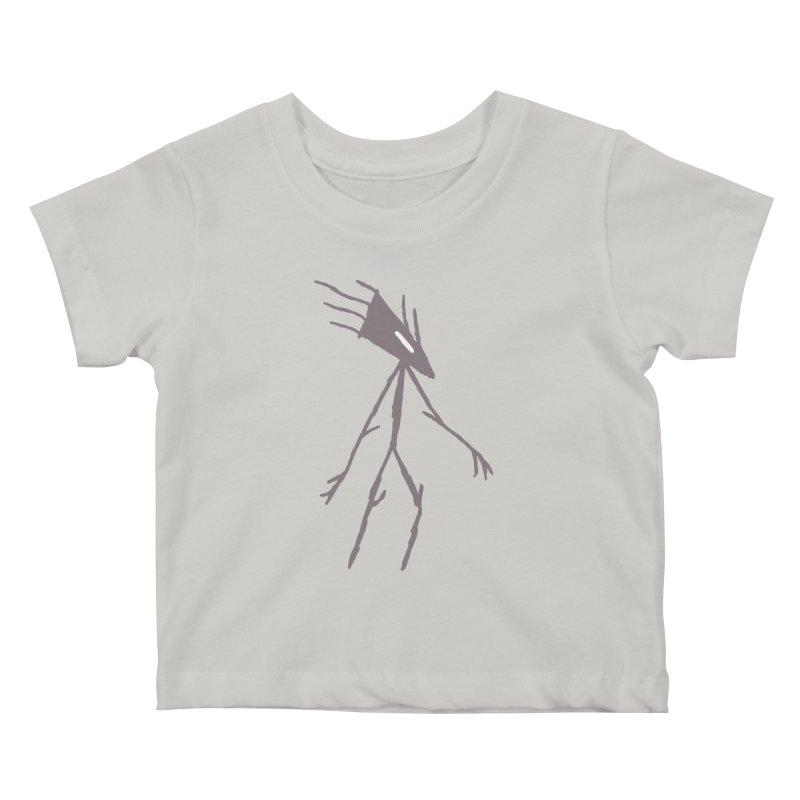 Road Walker Kids Baby T-Shirt by The Little Fears