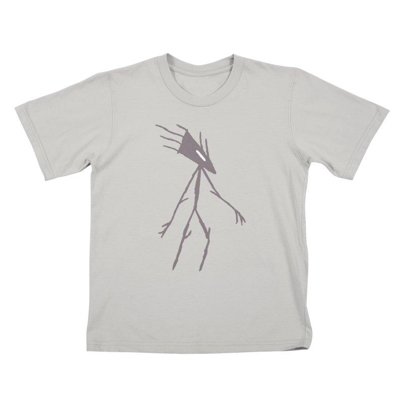 Road Walker Kids T-Shirt by The Little Fears
