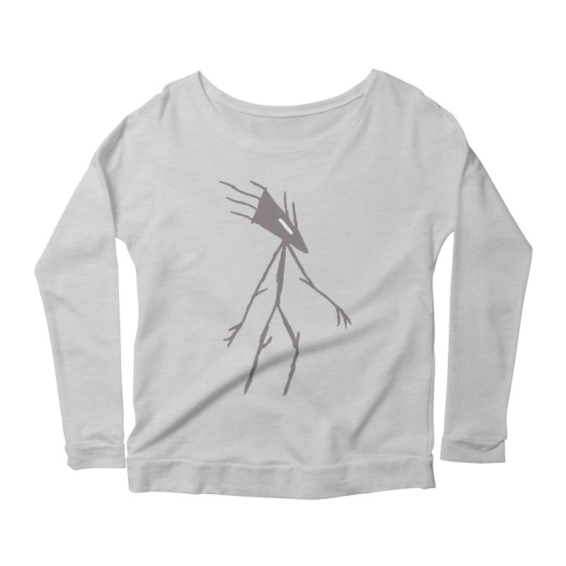 Road Walker Women's Longsleeve Scoopneck  by The Little Fears