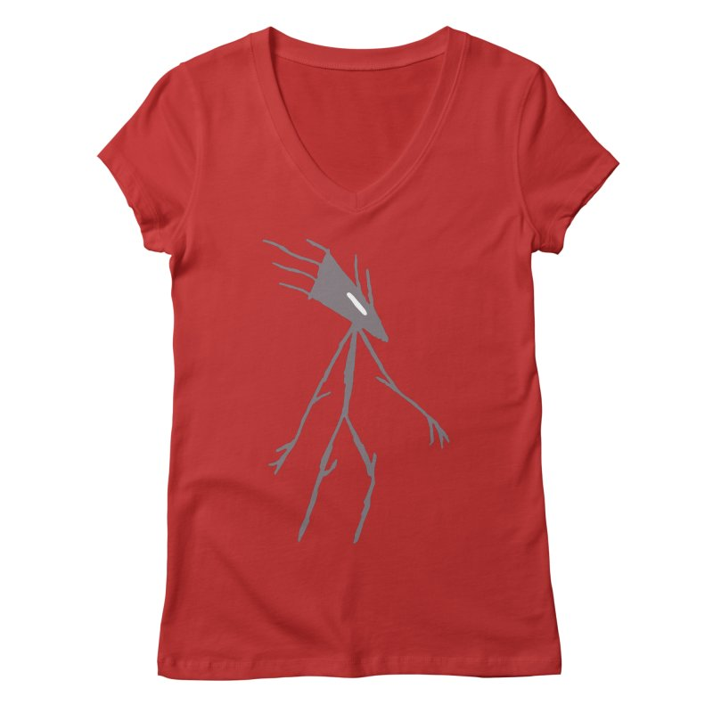 Road Walker Women's V-Neck by The Little Fears