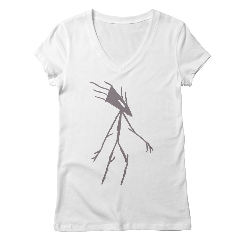 Road Walker Women's Regular V-Neck by The Little Fears