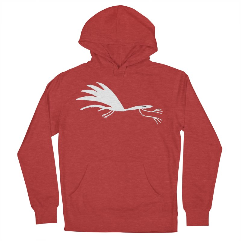 Terror-Dactyl Men's French Terry Pullover Hoody by The Little Fears