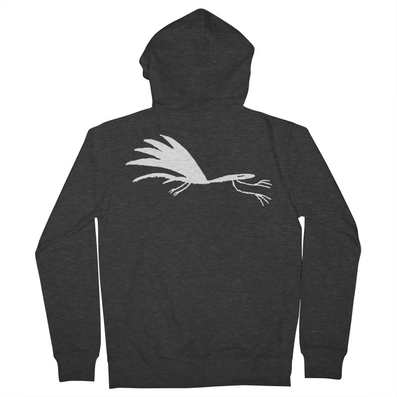 Terror-Dactyl Women's French Terry Zip-Up Hoody by The Little Fears