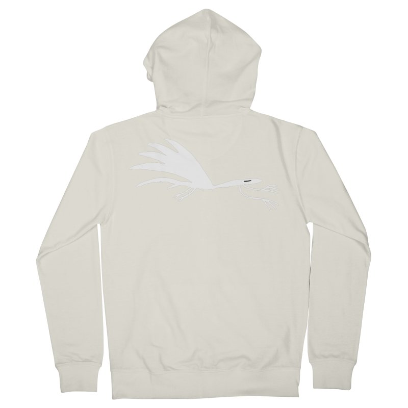 Terror-Dactyl Men's French Terry Zip-Up Hoody by The Little Fears