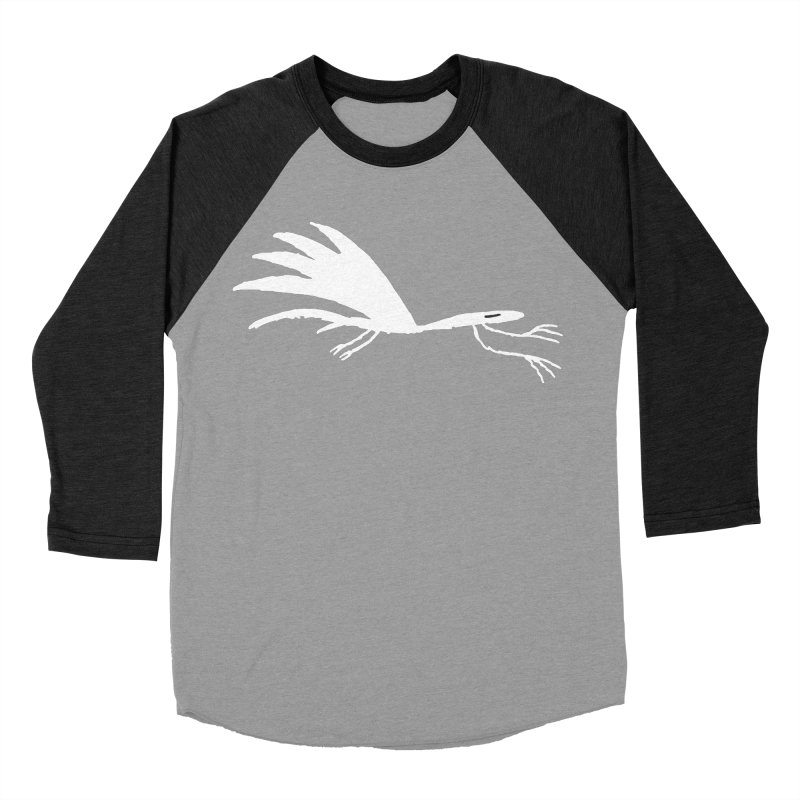 Terror-Dactyl Women's Baseball Triblend Longsleeve T-Shirt by The Little Fears