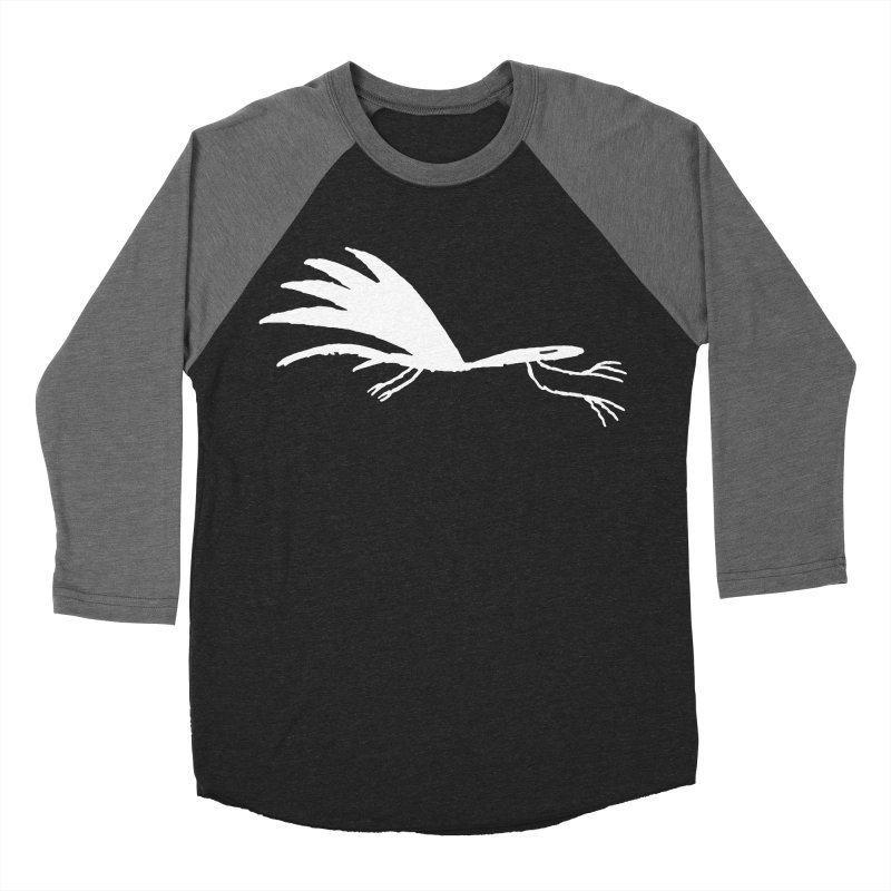 Terror-Dactyl Men's Baseball Triblend Longsleeve T-Shirt by The Little Fears
