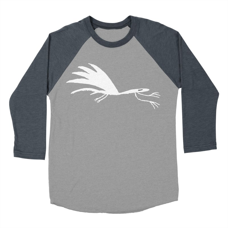 Terror-Dactyl Men's Baseball Triblend T-Shirt by The Little Fears