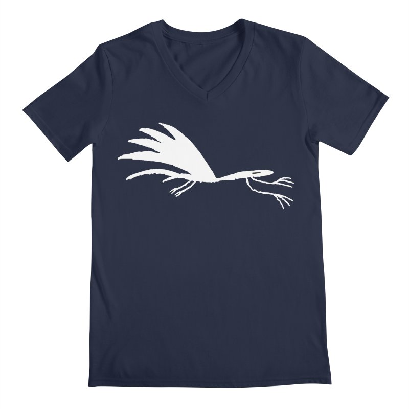 Terror-Dactyl Men's Regular V-Neck by The Little Fears