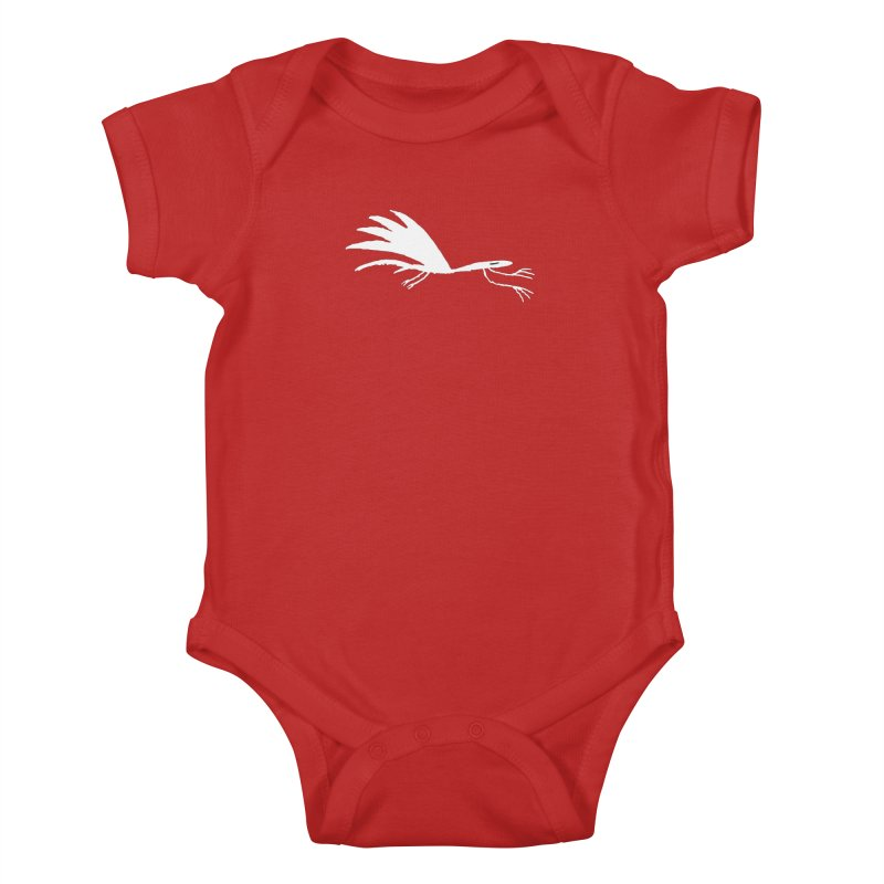 Terror-Dactyl Kids Baby Bodysuit by The Little Fears