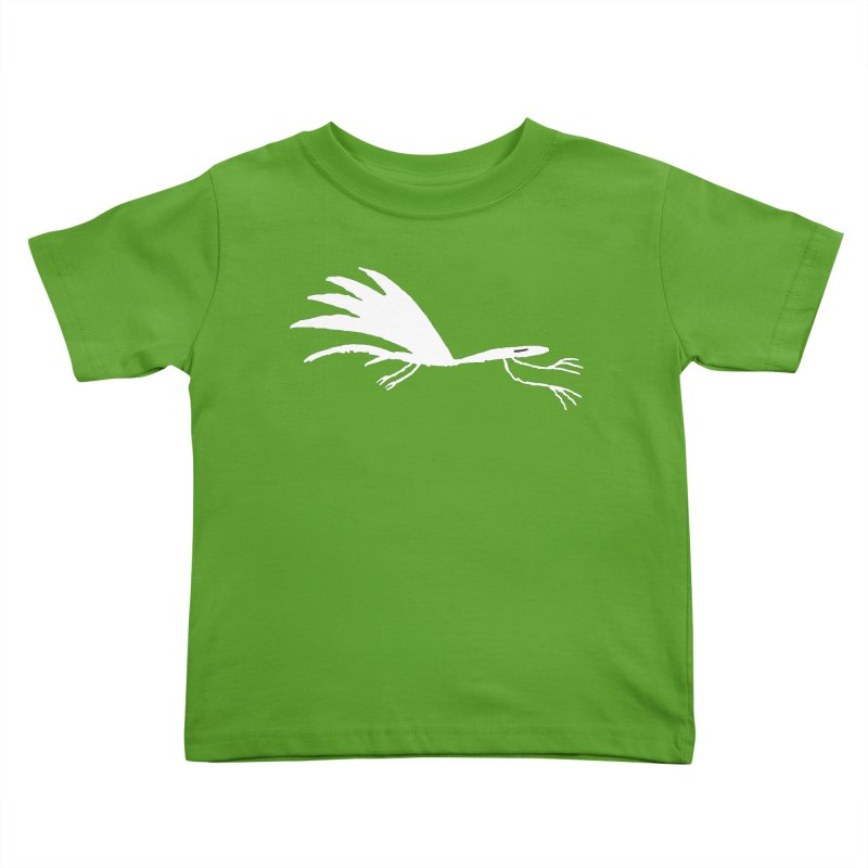 Terror-Dactyl Kids Toddler T-Shirt by The Little Fears