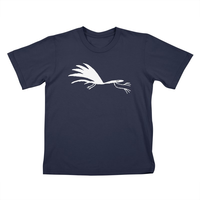 Terror-Dactyl Kids T-Shirt by The Little Fears