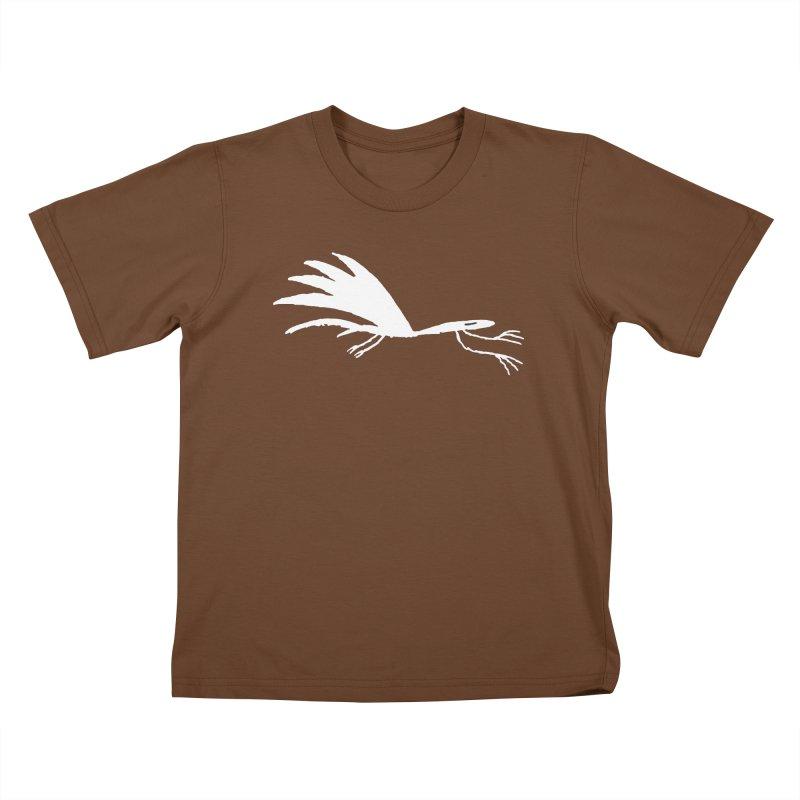 Terror-Dactyl Kids T-Shirt by The Little Fears