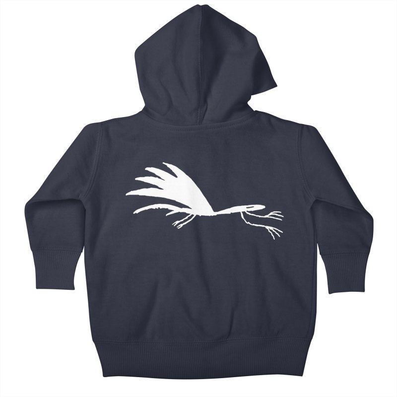 Terror-Dactyl Kids Baby Zip-Up Hoody by The Little Fears