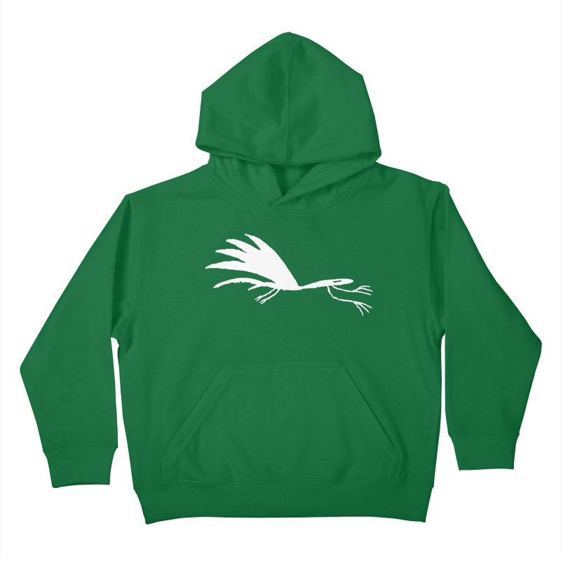 Terror-Dactyl Kids Pullover Hoody by The Little Fears