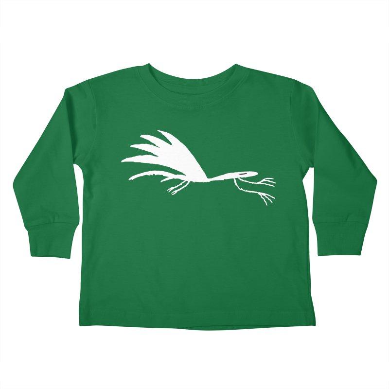 Terror-Dactyl Kids Toddler Longsleeve T-Shirt by The Little Fears