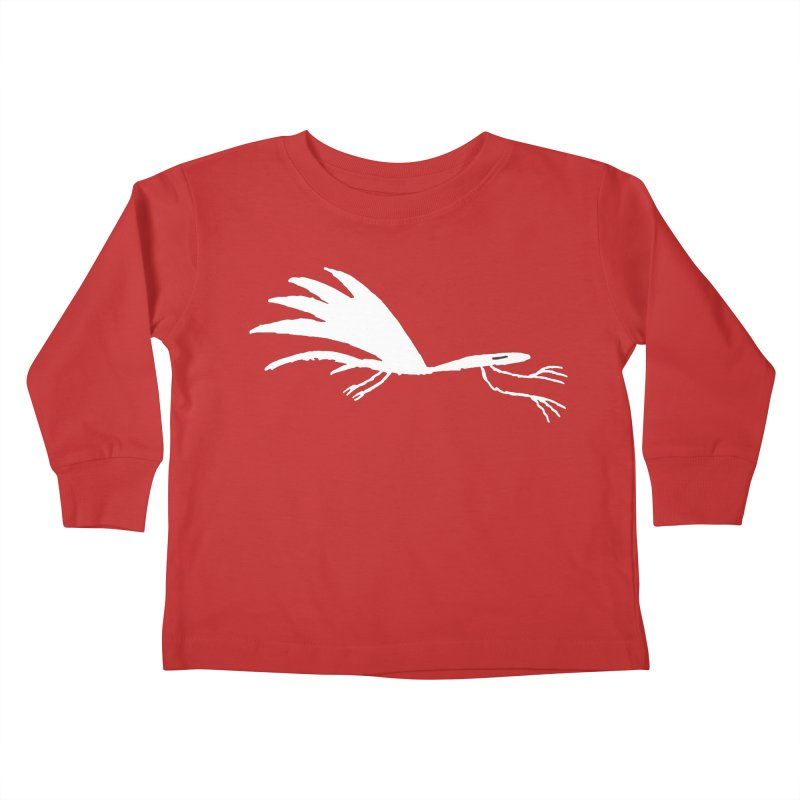 Terror-Dactyl Kids Toddler Longsleeve T-Shirt by The Little Fears