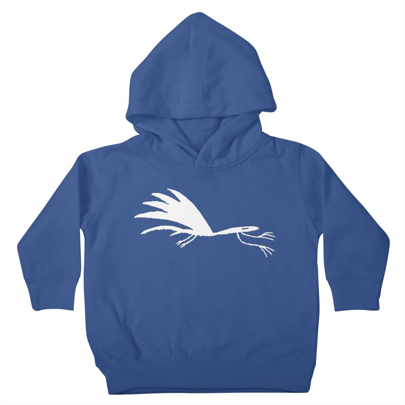 Terror-Dactyl Kids Toddler Pullover Hoody by The Little Fears