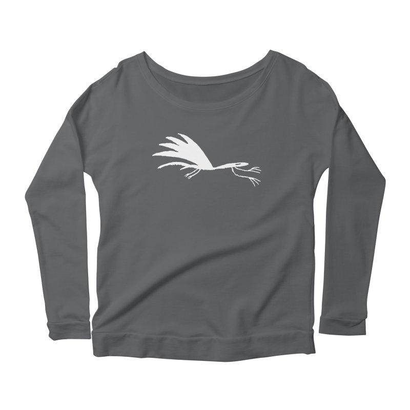 Terror-Dactyl Women's Scoop Neck Longsleeve T-Shirt by The Little Fears