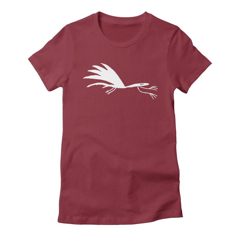 Terror-Dactyl Women's Fitted T-Shirt by The Little Fears