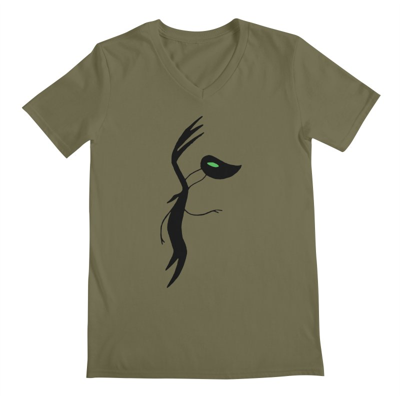 Botanica Men's Regular V-Neck by The Little Fears