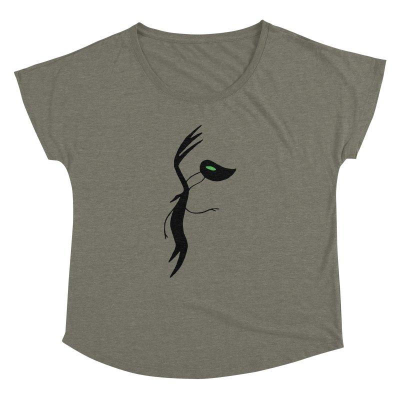 Botanica Women's Dolman Scoop Neck by The Little Fears