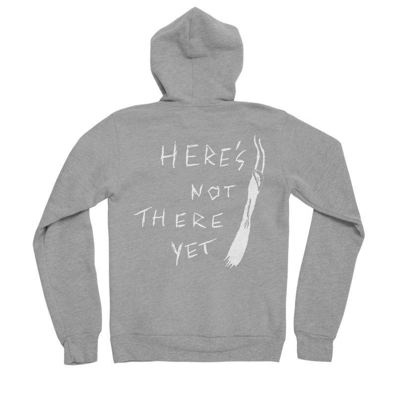 Here's not here yet - Horned Men's Sponge Fleece Zip-Up Hoody by The Little Fears