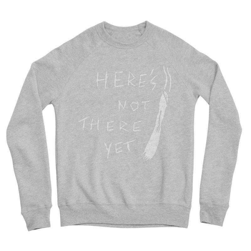 Here's not here yet - Horned Women's Sponge Fleece Sweatshirt by The Little Fears