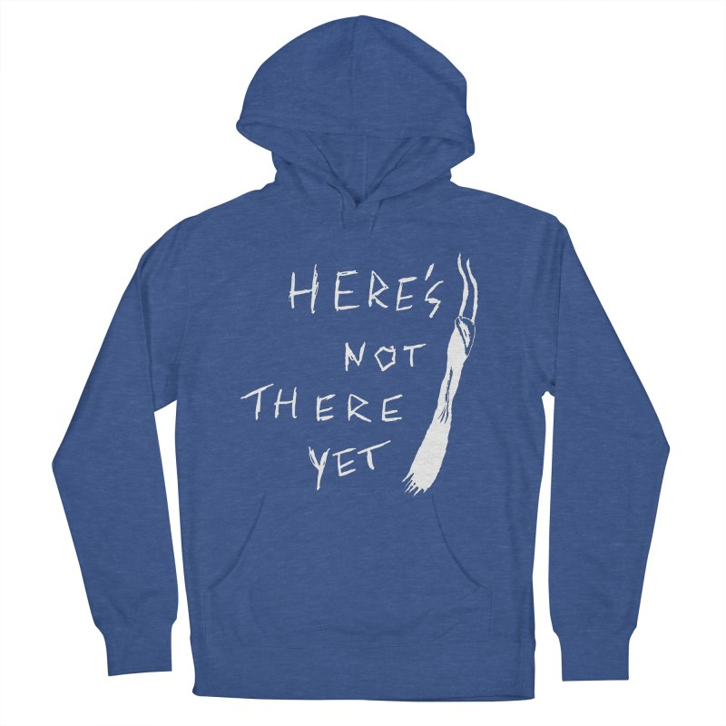 Here's not here yet - Horned Men's French Terry Pullover Hoody by The Little Fears