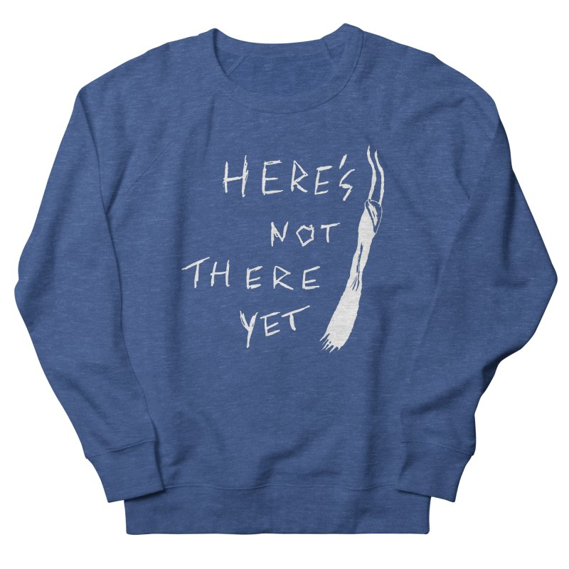 Here's not here yet - Horned Men's Sweatshirt by The Little Fears