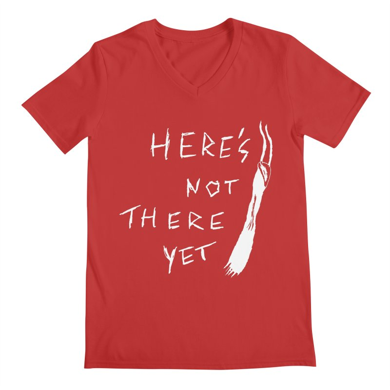 Here's not here yet - Horned Men's V-Neck by The Little Fears