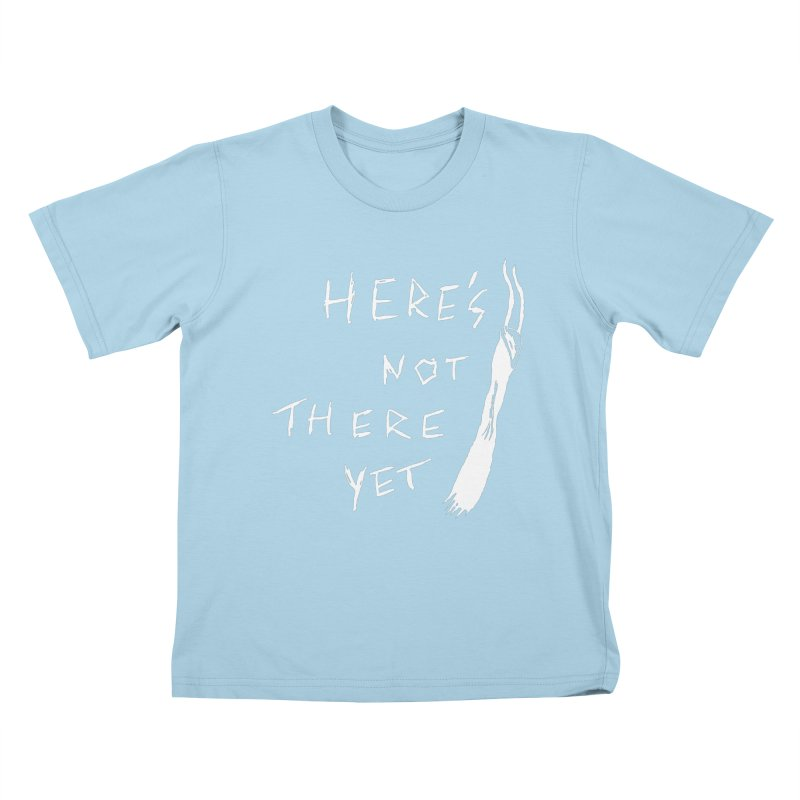 Here's not here yet - Horned Kids T-Shirt by The Little Fears