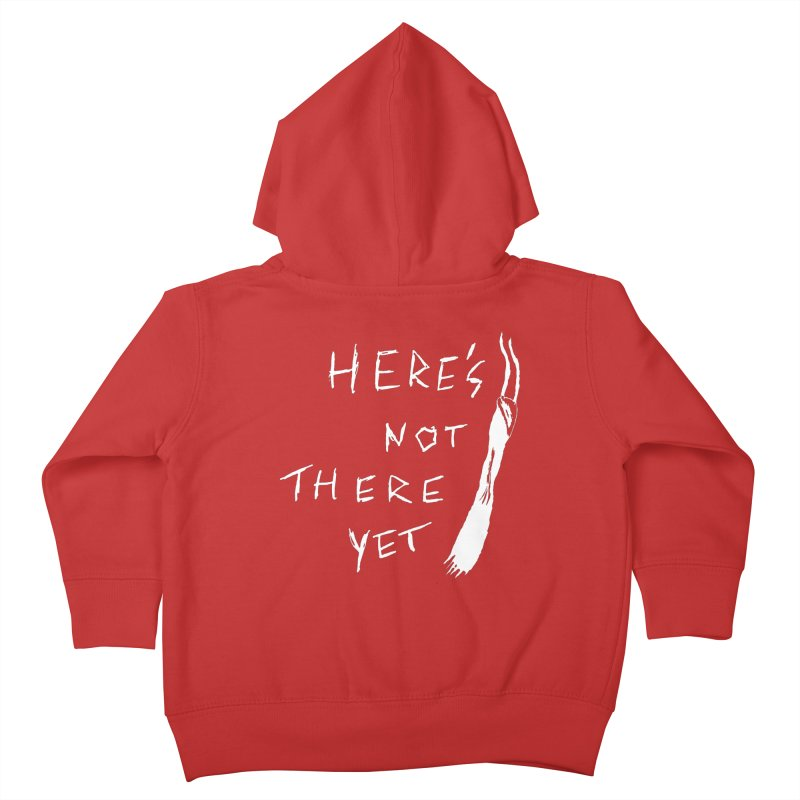 Here's not here yet - Horned Kids Toddler Zip-Up Hoody by The Little Fears