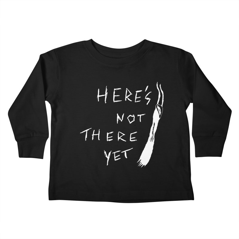 Here's not here yet - Horned Kids Toddler Longsleeve T-Shirt by The Little Fears