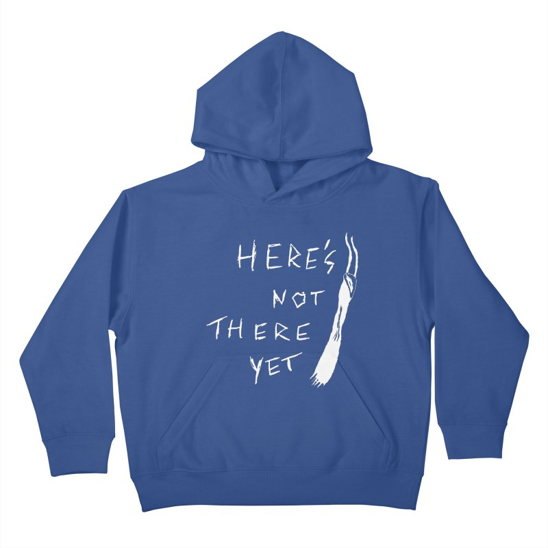 Here's not here yet - Horned Kids Pullover Hoody by The Little Fears