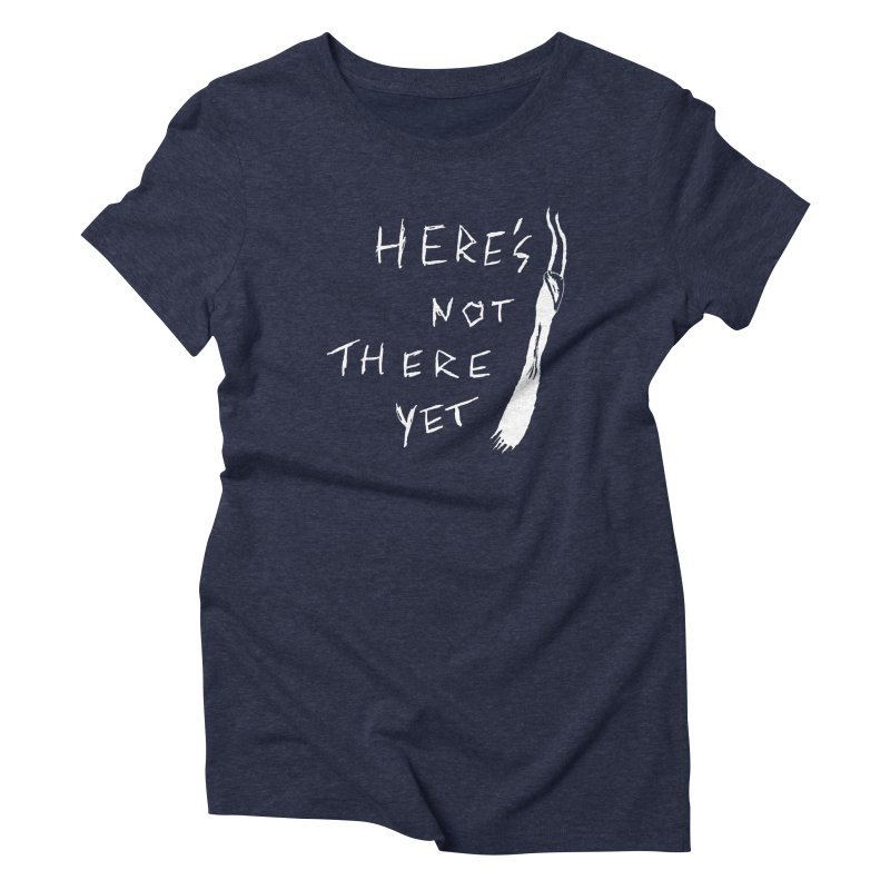 Here's not here yet - Horned Women's T-Shirt by The Little Fears