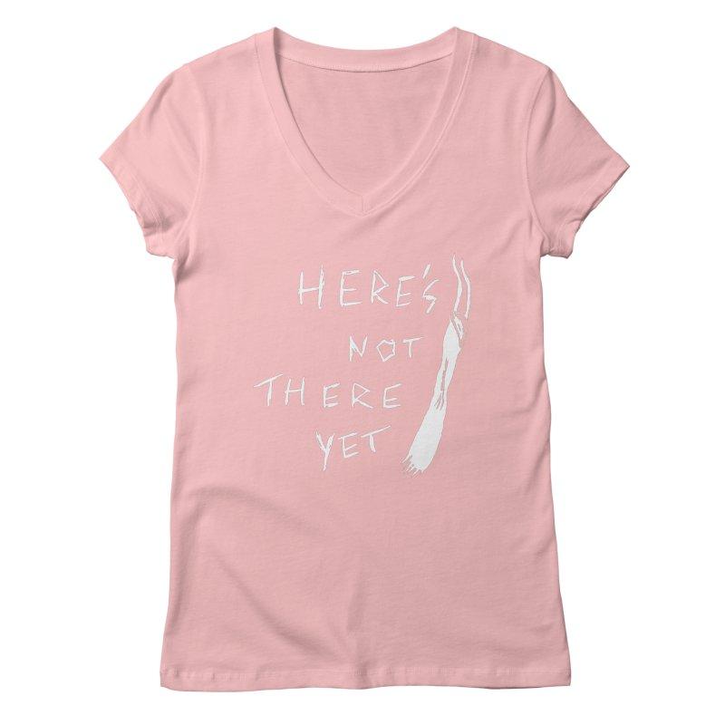 Here's not here yet - Horned Women's Regular V-Neck by The Little Fears