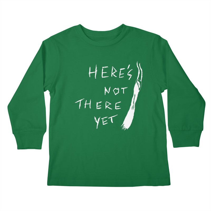Here's not here yet - Horned Kids Longsleeve T-Shirt by The Little Fears