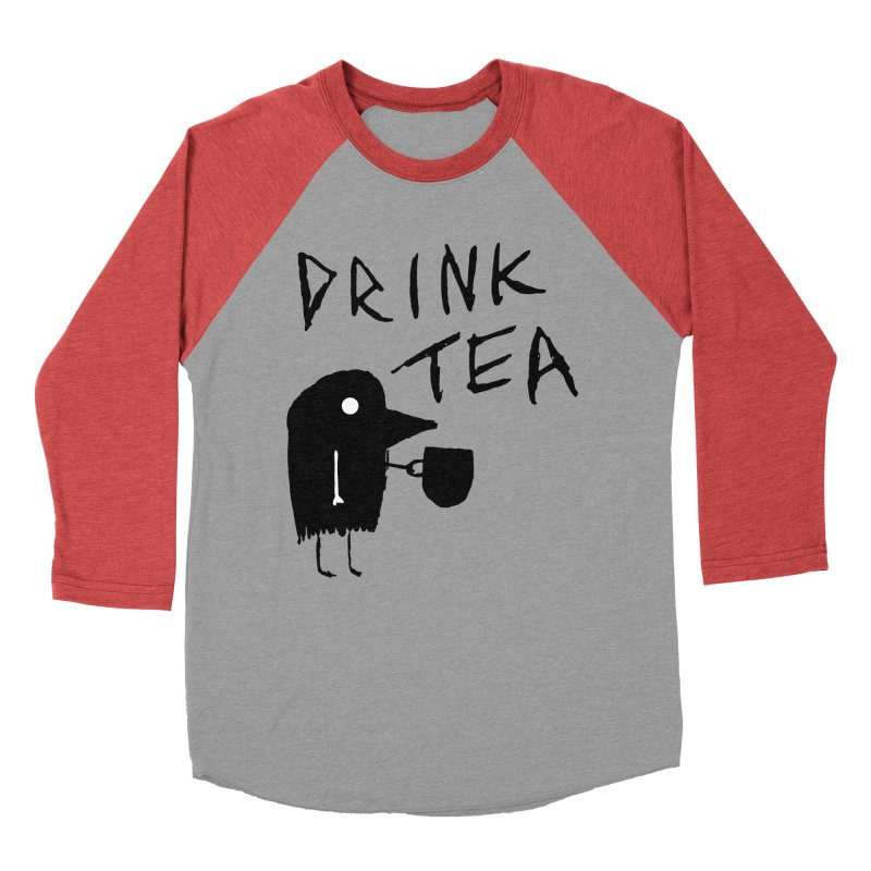 Drink Tea Men's Longsleeve T-Shirt by The Little Fears