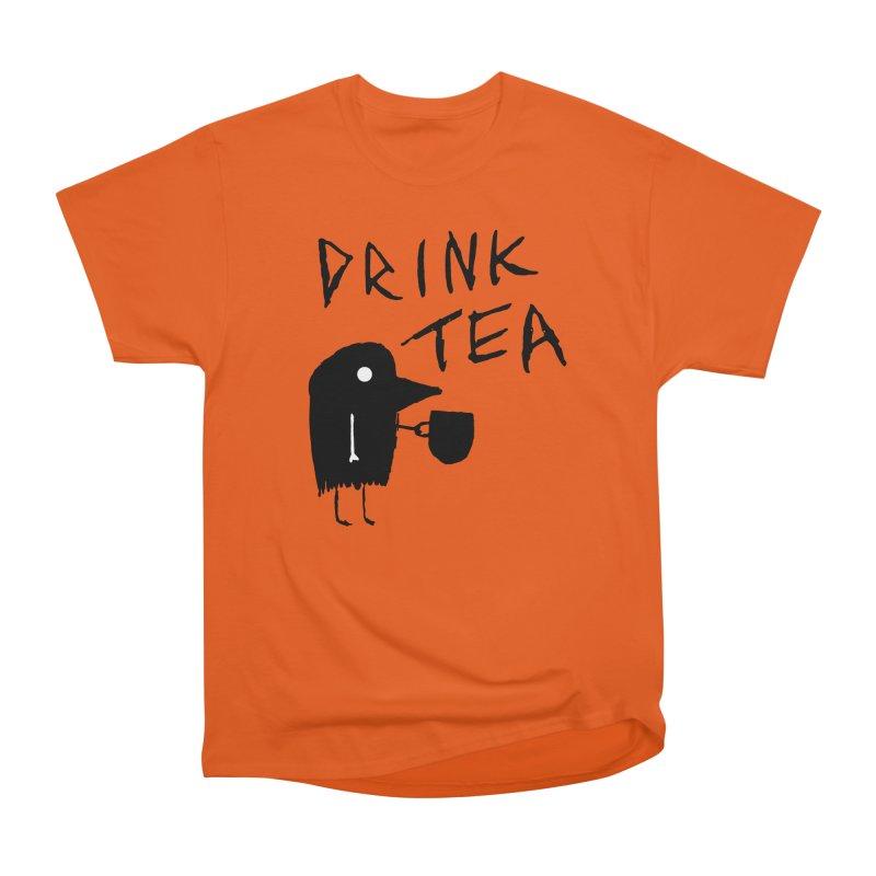 Drink Tea Women's T-Shirt by The Little Fears