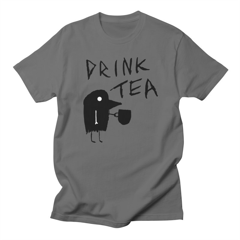 Drink Tea Men's T-Shirt by The Little Fears