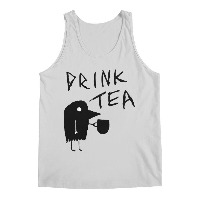 Drink Tea Men's Tank by The Little Fears