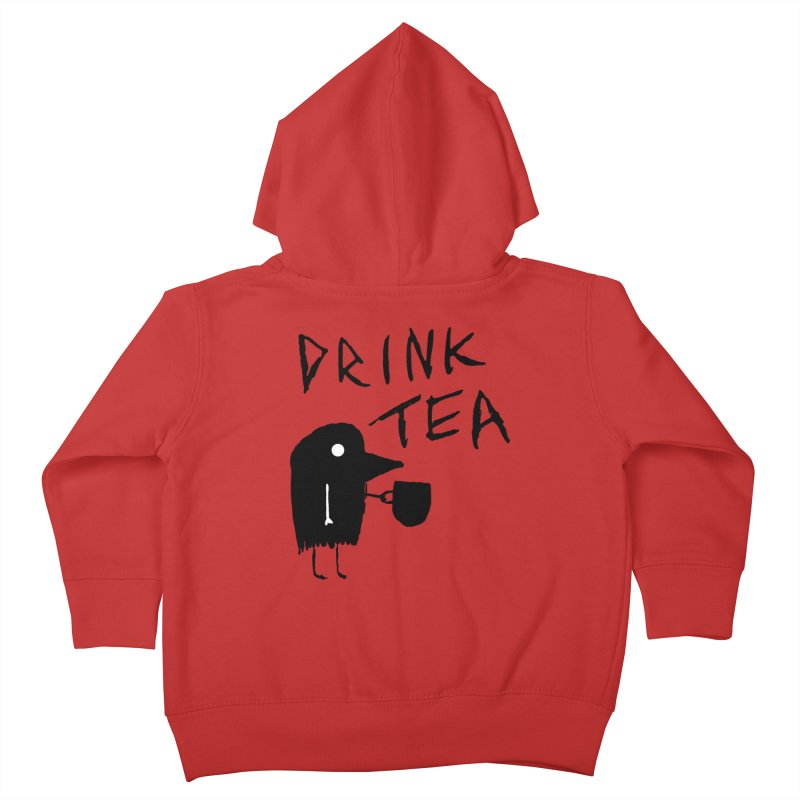 Drink Tea Kids Toddler Zip-Up Hoody by The Little Fears