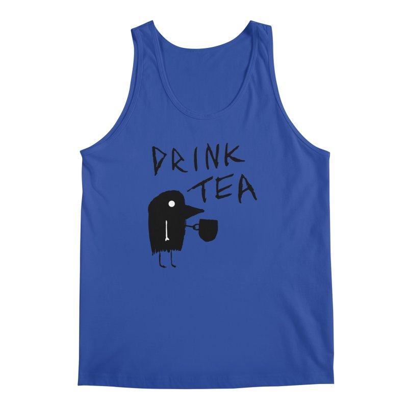 Drink Tea Men's Regular Tank by The Little Fears