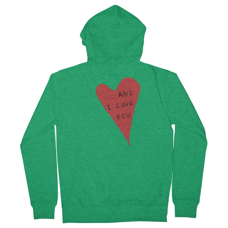 Lucy's Heart - And I Love You Men's Zip-Up Hoody by The Little Fears